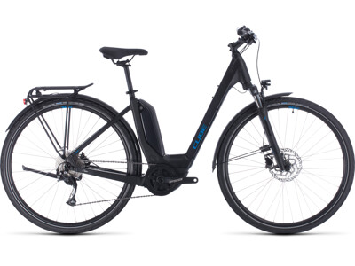 Cube Touring Hybrid One black-n-blue Easy Entry