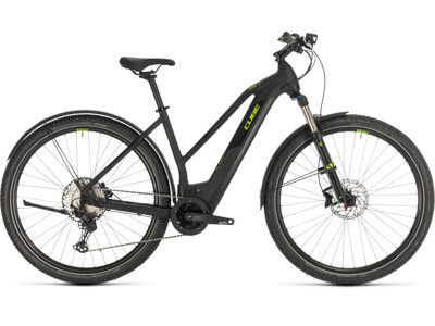 Cube Cross Hybrid Race 625 Allroad black´n´green Trapeze