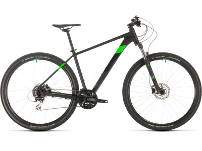 Cube Aim Race 29er black´n´flashgreen 2020