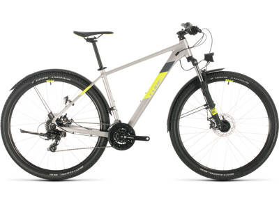 Cube Aim Allroad silver´n´flashyellow 29er 2020