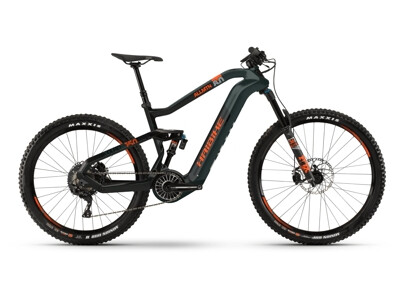 Haibike XDURO AllMtn 8.0 i630Wh oliv-carbon-orange matt 2021
