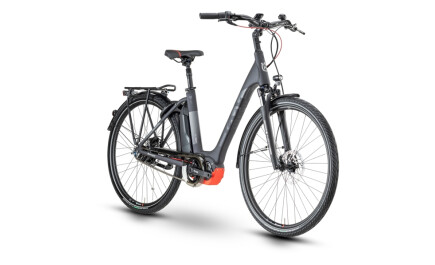 Husqvarna Bicycles Gran City GC 4 mit Shimano Steps Mittelmotor, 500Wh Akku, 28 Zoll.