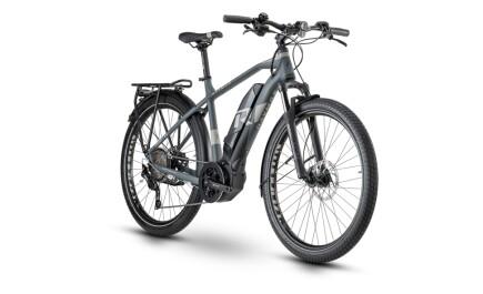 Raymon E-Tourray 6.0, Trekking E-bike mit Yamaha Antrieb, Akku leistet 500Wh.