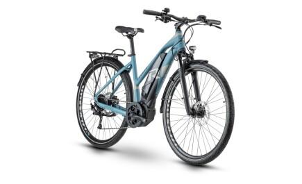 Raymon E-Tourray 5.0, Trekking E-bike mit Yamaha Antrieb, Akku leistet 500Wh.