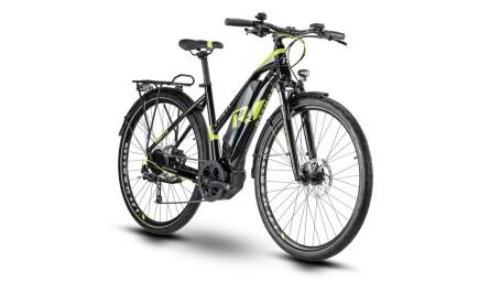 Raymon E-TourRay 4.0, Trekking E-bike mit Yamaha Antrieb, Akku leistet 500Wh.