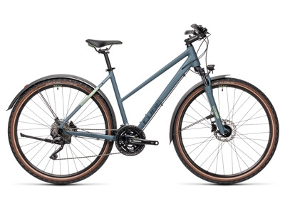 Cube Nature Pro Allroad Trapez blue´n´green 2021