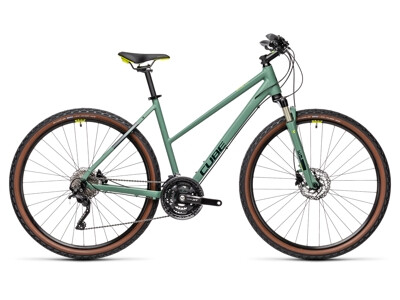 Cube Nature EXC Trapez green´n´bluegreen 2021