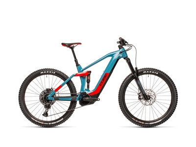Stereo Hybrid 160 HPC Race 625 27.5 blue´n´red