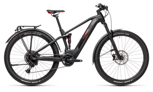 Cube Stereo Hybrid 120 Pro Allroad 625 black´n´red