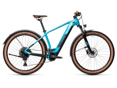 Cube Reaction Hybrid Pro 500 Allroad petrol´n´orange