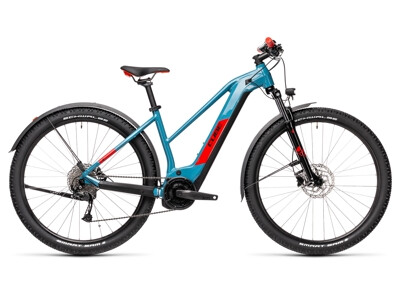 Cube Reaction Hybrid Performance 500 blue´red Allroad trapeze