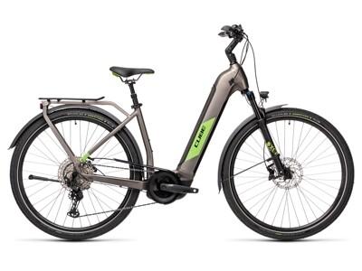 Cube Kathmandu Hybrid EXC, Easy Entry, teak´n green