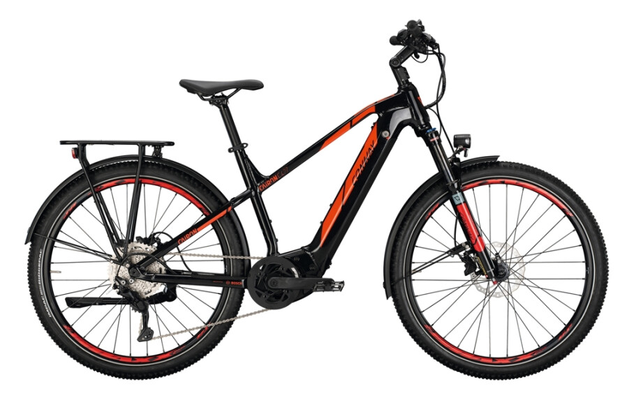 Conway Cairon C427 Bosch CX 85 Nm 625WH black/red