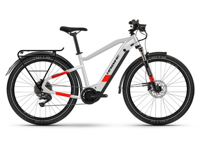 Haibike Trekking 7 grey/red