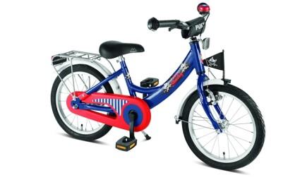 Puky ZL 18-1 Alu, Capt´n Sharky, 18 Zoll Kinder-Fahrrad mit Rücktrittbremse