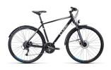 Trekkingbike Cube Curve Allroad black silver blue