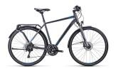 Trekkingbike Cube Delhi Exc anthrazit blue black