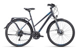 Trekkingbike Cube Delhi Exc anthrazit blue black / Trapeze