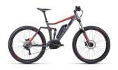 E-Bike Cube Stereo Hybrid 140 HPA Pro  grey´n´black´n´flashred