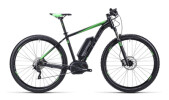E-Bike Cube Reaction Hybrid HPA Race 29 black´n´grey´n´green