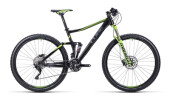 Mountainbike Cube Stereo 120 HPA black´n´grey´n´green