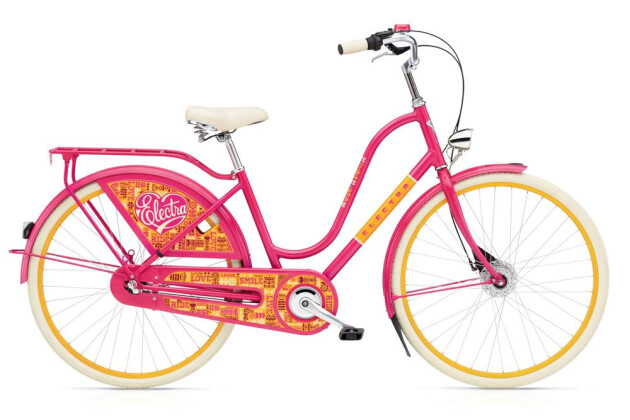 Hollandrad Electra Bicycle Amsterdam Joyride 3i Ladies' 2016