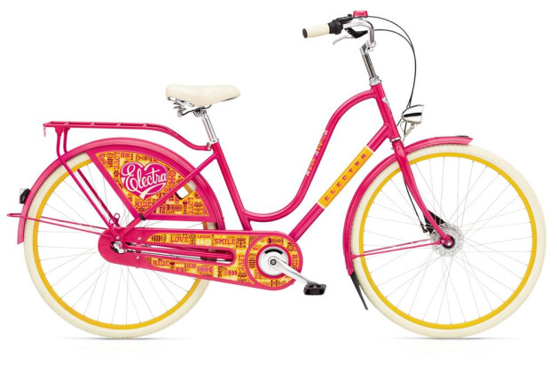 Hollandrad Electra Bicycle Amsterdam Fashion 7i Joyride E 2016