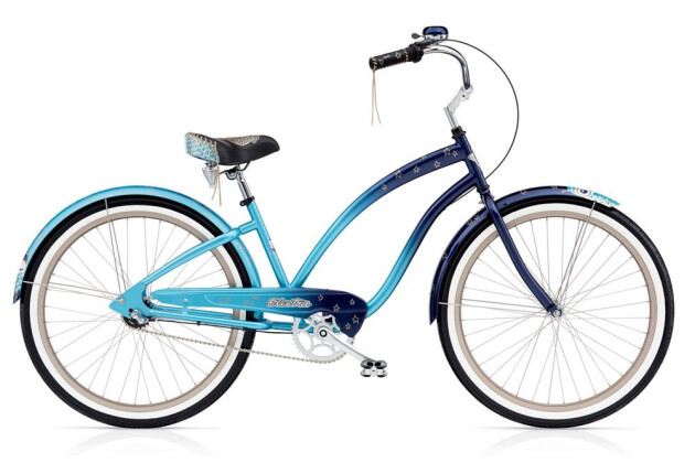 Cruiser-Bike Electra Bicycle Night Owl 3i Ladies' EU 2016