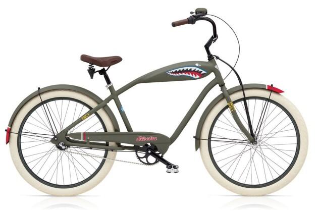 Cruiser-Bike Electra Bicycle Tiger Shark 3i Men's EU 2018