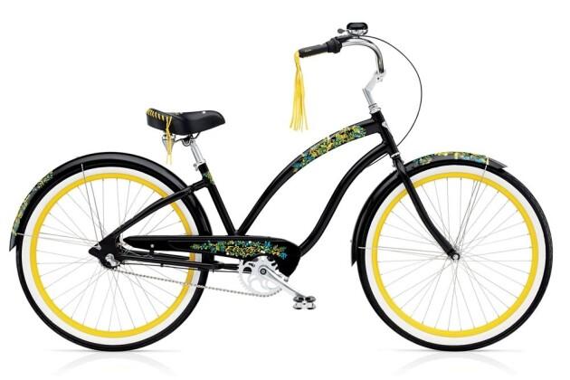 Cruiser-Bike Electra Bicycle Flora & Fauna 3i Ladies' EU 2016