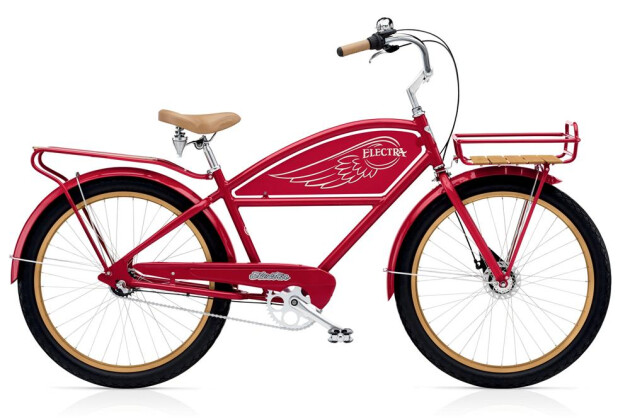 Cruiser-Bike Electra Bicycle Delivery 3i Men's 2016