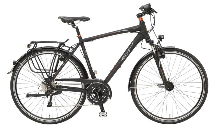 Trekkingbike Green's Colchester 2016