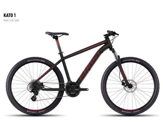 Mountainbike Ghost Kato 1 black-red-gray 2016