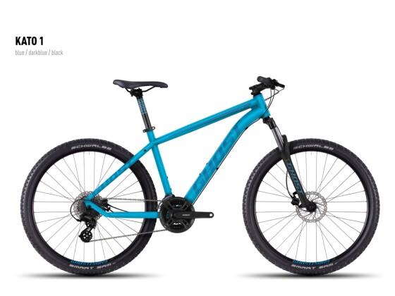 Mountainbike Ghost Kato 1 blue-darkblue-black 2016