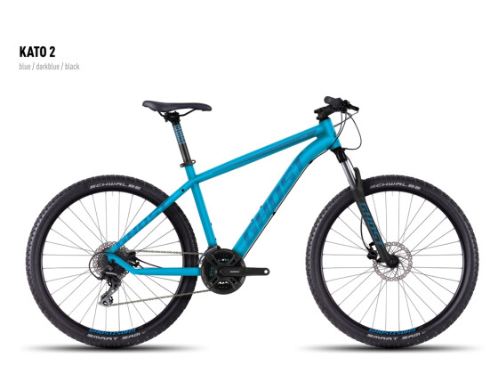 Mountainbike Ghost Kato 2 blue-darkblue-black 2016