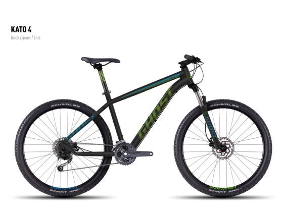 Mountainbike Ghost Kato 4 black-green-blue 2016