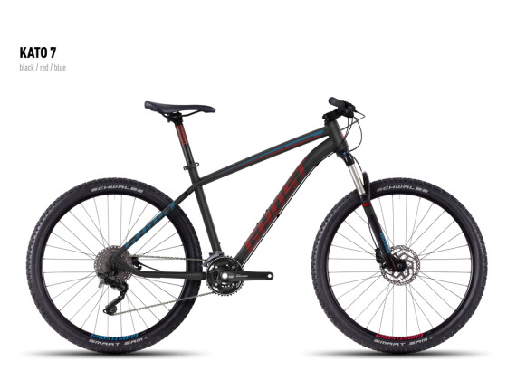 Mountainbike Ghost Kato 7 black-red-blue 2016