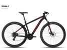 Mountainbike Ghost Tacana 1 black-red-gray