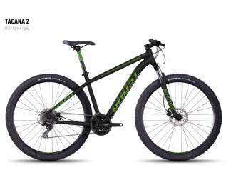 Mountainbike Ghost Tacana 2 black-green-gray