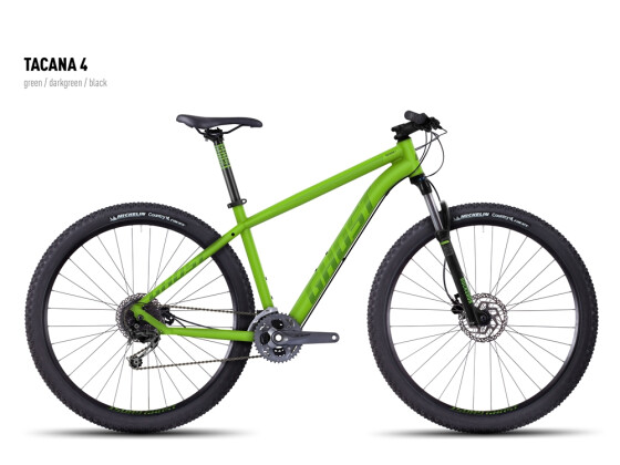 Mountainbike Ghost Tacana 4 green-darkgreen-black 2016