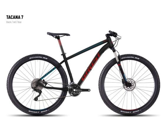 Mountainbike Ghost Tacana 7 black-red-blue 2016