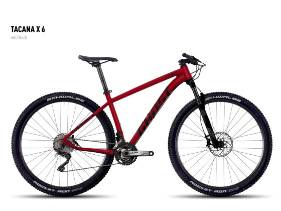 Mountainbike Ghost Tacana X 6 red/black 2016