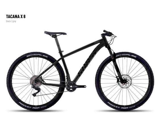 Mountainbike Ghost Tacana X 8 black/gray 2016