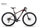 Mountainbike Ghost HTX EBS 1 LC black/red/white/darkred