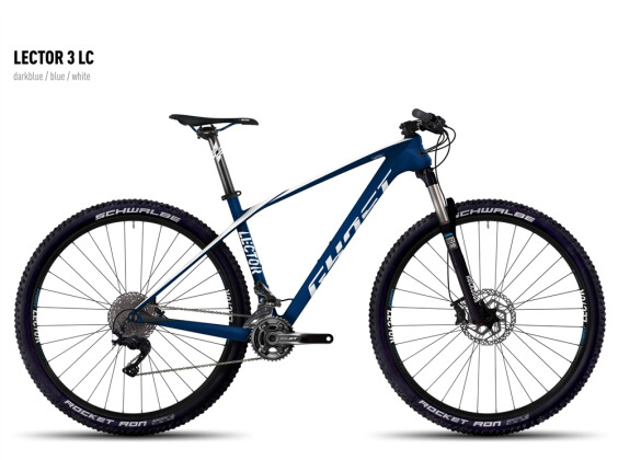 Mountainbike Ghost Lector 3 LC darkblue/blue/white 2016