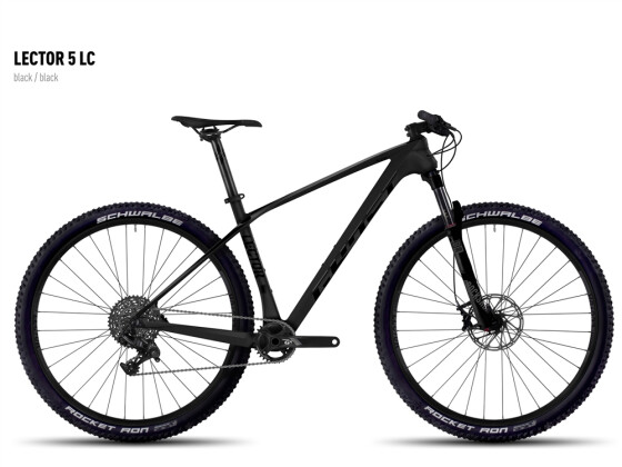 Mountainbike Ghost Lector 5 LC black/black 2016