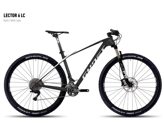 Mountainbike Ghost Lector 6 LC black/white/gray 2016
