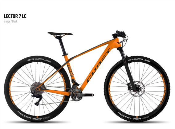 Mountainbike Ghost Lector 7 LC orange/black 2016
