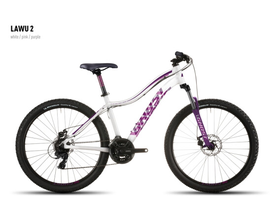Mountainbike Ghost Lawu 2 white-pink-purple 2016