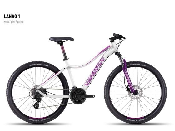 Mountainbike Ghost Lanao 1 white-pink-purple 2016